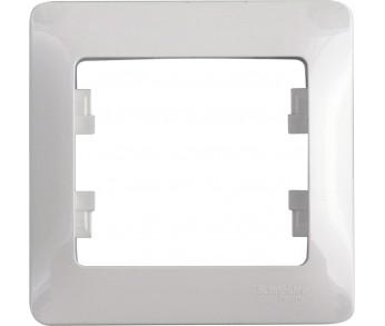 GLOSSA Рамка 1-ая бел. (упак. 45шт.)