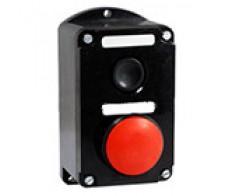 Кнопка ПКЕ 222/2 У2 (красный грибок+1черная)