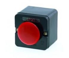 Кнопка ПКЕ 222/1 Красный грибок (без сальников)