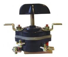 Пакетный выключатель ПВ 2-16 исп.3 крепление на перед.панель (16А/220,10А/380) Электротехник