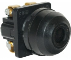Кнопка КЕ-081 черный исп.2 (1но+1нз) IP54 (аналог ВК50-21)
