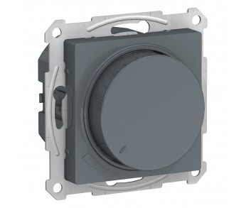 ATLASDESIGN Светорегулятор (диммер) 315Вт поворотно-нажимной грифель (8шт/упак)
