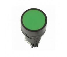 Кнопка зеленая SВ-7 Пуск 1з+1р 22мм 240В IEK