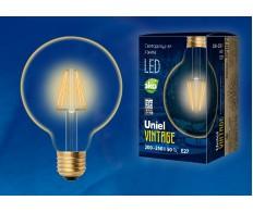 Лампа светодиодная G95 (Лампа-глобы) 6W E27 2250K 220V Uniel