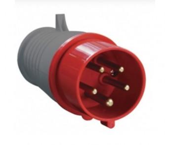 Вилка кабельная 015 16А 3Р+РЕ+N IP44 380V переносная MAGNUM IEK (10шт)