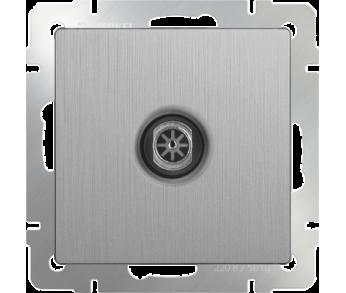 Werkel Розетка TV оконечная серебряная рифленая (W1183009)