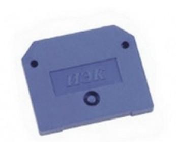 Заглушка для ЗНИ 16мм2 синий IEK