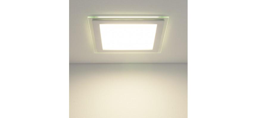 Светильник точечный светодиодный DLKS200 18W 4200К 160*160*42мм Elektrostandart
