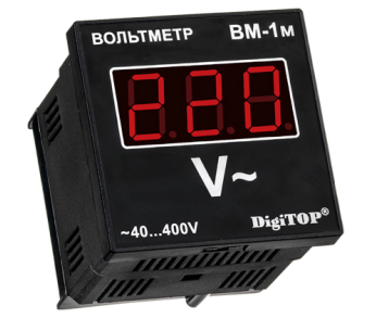 Вольтметр переменного тока Вм-1м DigiTOP