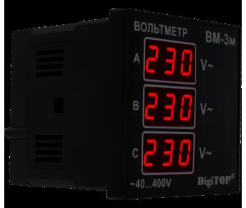 Вольтметр переменного тока Вм-3м DigiTOP