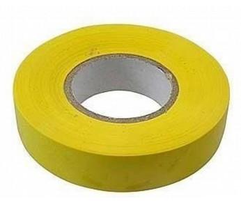 Изолента 19мм 20м желтая