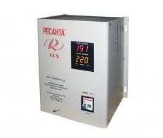 Стабилизатор напряжения ACH-10000 H/1-Ц Lux 63/6/18 Ресанта