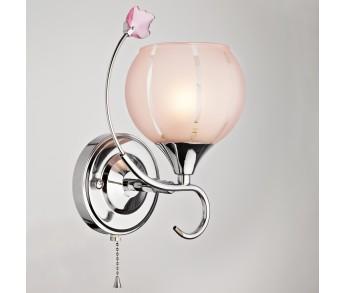 Бра 3457/1 хром/розовый Eurosvet