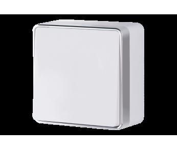 Werkel Выключатель одноклавишный проходной белый Gallant