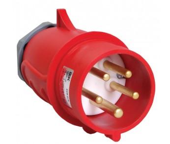 Вилка кабельная 025 32А 3Р+РЕ+N IP44 380V переносная  MAGNUM IEK