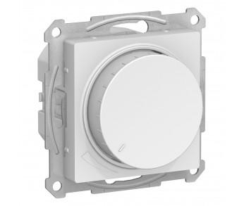 ATLASDESIGN Светорегулятор (диммер) 630Вт поворотно-нажимной белый (10шт/упак)