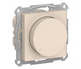 ATLASDESIGN Светорегулятор (диммер) 630Вт поворотно-нажимной бежевый (10шт/упак)