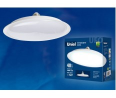Лампа светодиодная 40W Е-27 4000К 220V форма UFO Uniel