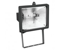Прожектор галогенный ИО-500Вт симметричный черный ИЭК