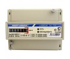 Счетчик эл.энергии ЦЭ6803В/1 Р31 М7 1-7,5А 3ф Din