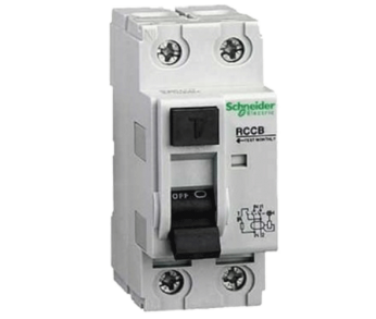 Выключатель диф. тока (УЗО) 2п 25А 30мА 6кА RCCB АС