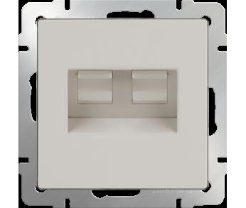 Werkel Розетка Ethernet RJ-45 2-ая слоновая кость