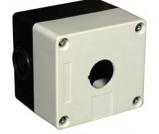 Корпус КП101 для кнопок 1место белый IEK