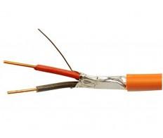 Провод витая пара КПСЭнг-FRLS 1x2x0,5 (экран) для ОПС и СОУЭ огнестойкий