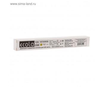 Драйвер светодиодный (длинный и тонкий) LED 50Вт 12В IP20 Ecola