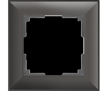Werkel Рамка на 1 пост серо-коричневый Fiore