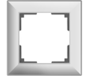 Werkel Рамка на 1 пост белый Fiore