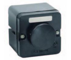 Кнопка ПКЕ 222/1 Черный грибок (без сальников)