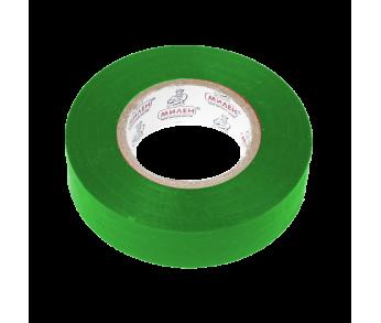 Изолента 19мм 20м зеленая