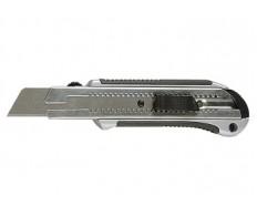 Нож 25мм выдвижное лезвие усиленная метал. направляющая обрезин.ручка MATRIX