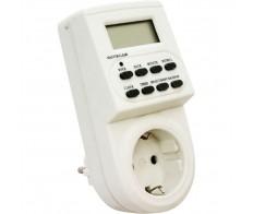 Розетка с таймером (недельная электронная) ТМ22 IP20 16А 3500W Feron
