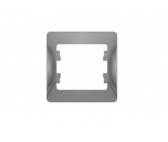 GLOSSA Рамка 1-ая алюминий (упак. 45шт.)
