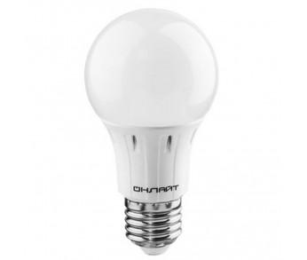 Лампа светодиодная 10W E27 6500K 230V A60 ЛОН ОНЛАЙТ