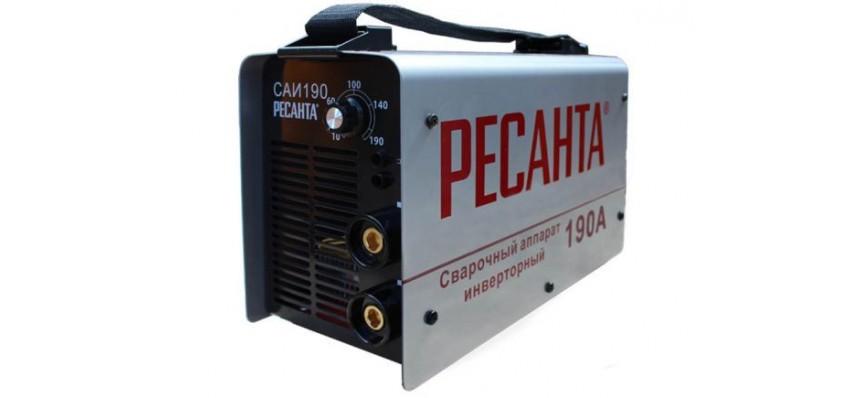 Сварочный аппарат САИ-190 65/2 220V 190А Ресанта