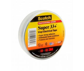 Изолента 19мм 20м черная морозостойкая Scotch Super 33+