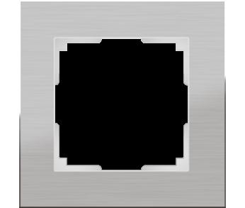 Werkel Рамка на 1 пост алюминий Aluminium
