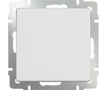 Werkel Выключатель 1-клавишный проходной белый