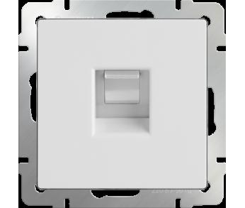 Werkel Розетка Ethernet RJ-45 белый