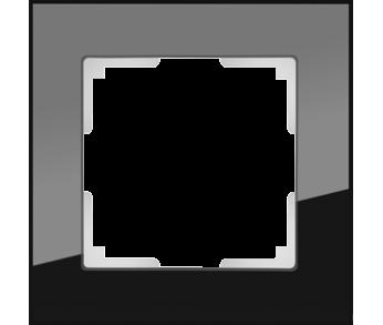 Werkel Рамка на 1 пост черный Favorit