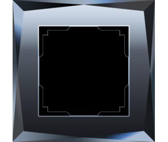 Werkel Рамка на 1 пост черный Diamant