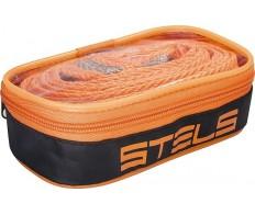 Трос буксировочный 3,5 тонны 2 крюка сумка на молнии STELS