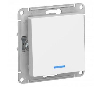 ATLASDESIGN Выключатель 1кл. с подсв. (сх.1а) 10AX белый (20шт/упак)