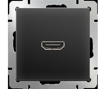 Werkel Розетка HDMI чёрная
