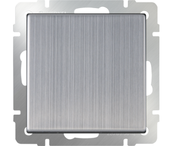 Werkel Выключатель 1-клавишный глянцевый никель