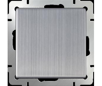 Werkel Выключатель 1-клавишный проходной глянцевый никель