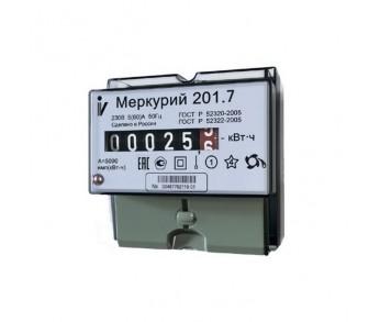 Счетчик эл.энергии Меркурий 201.7 60/5 Т1 D 230В ОУ Мех